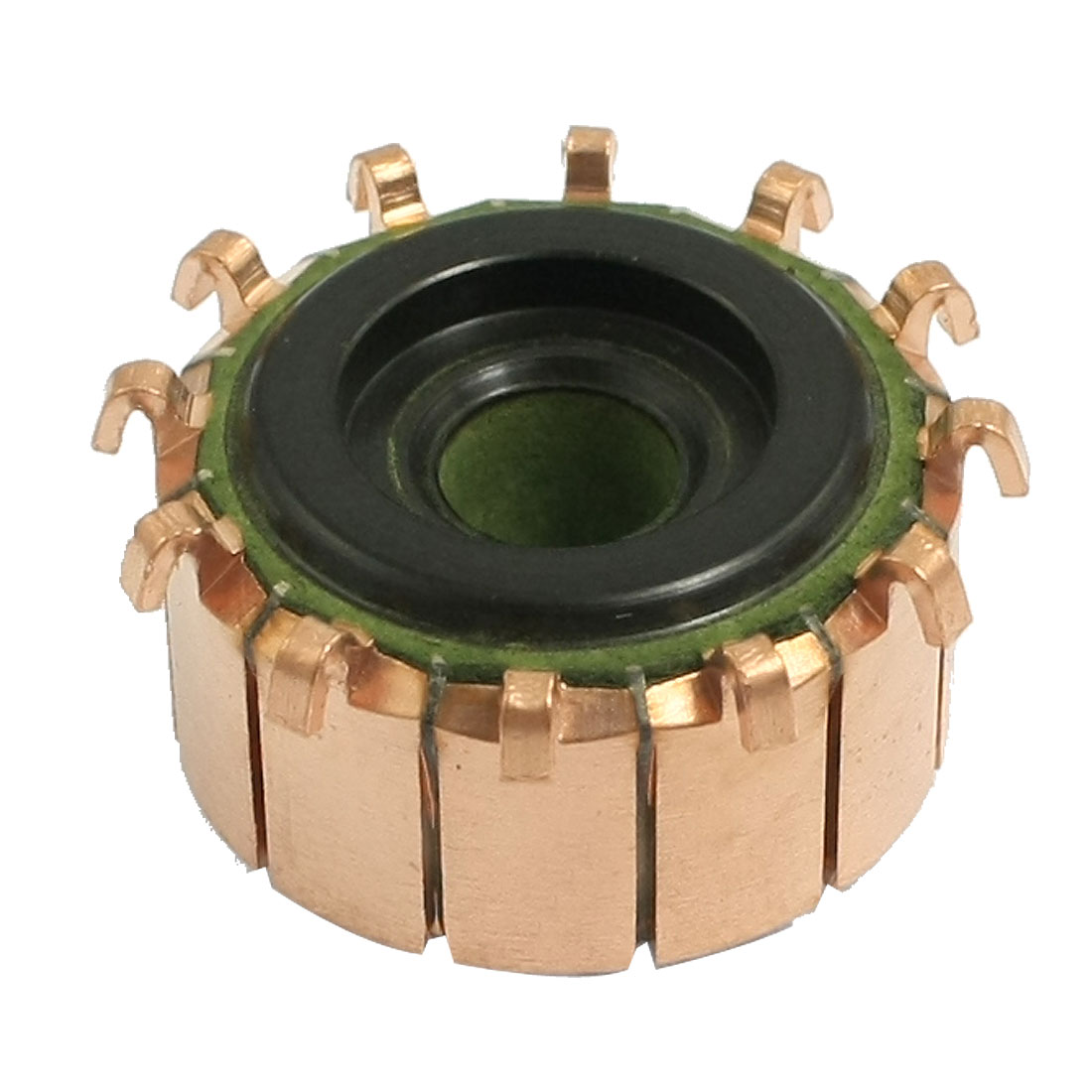 6.35mm x 21.5mm x 12mm Copper Case Auto Alternator Motor Power Tool Commutator