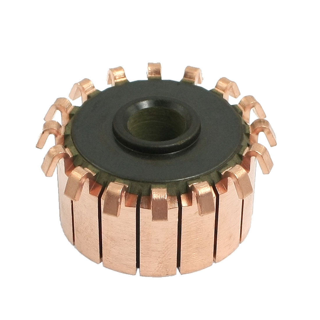 8mm x 28.5mm x 16mm 16 Copper Tooth Motor Commutator for Power Tool Appliance