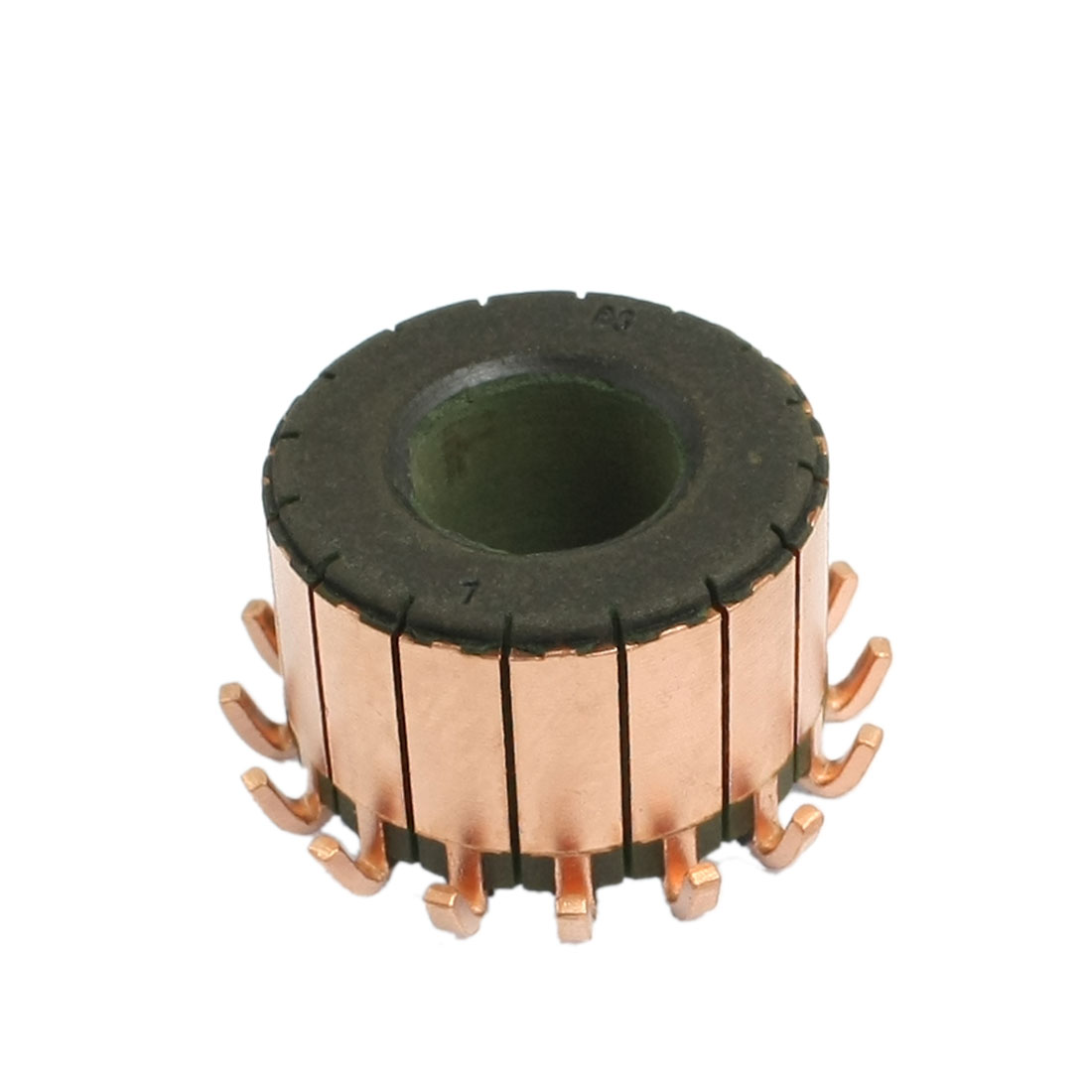 15mm x 32mm x 22mm 16 Gear Tooth Copper Shell Electric Motor Commutator