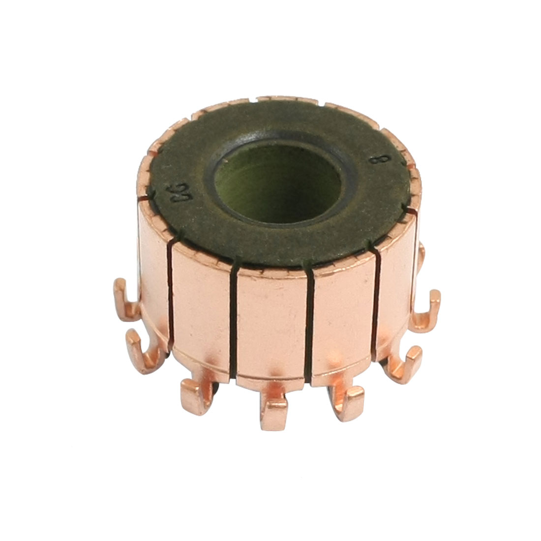 8mm x 18.9mm x 12.5mm 12 Tooth Copper Case Auto Alternator Power Tool Commutator