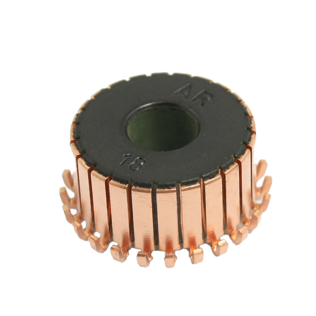 8mm x 21.5mm x 12mm Copper Casing Mounted On Armature Motor Commutator