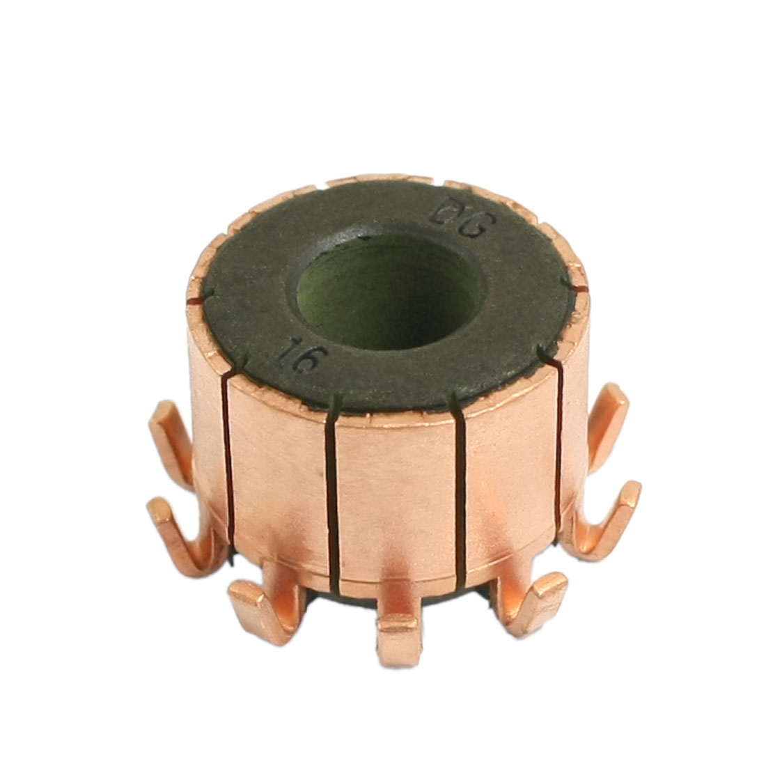 8mm x 18.1mm x 13.8mm Copper Case Auto Alternator Motor Power Tool Commutator