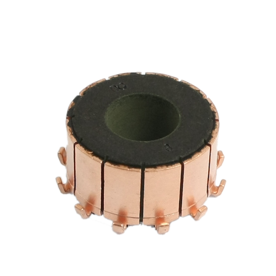 10mm Shaft Dimeter 12mm Height Copper Shell Mounted On Armature Commutator