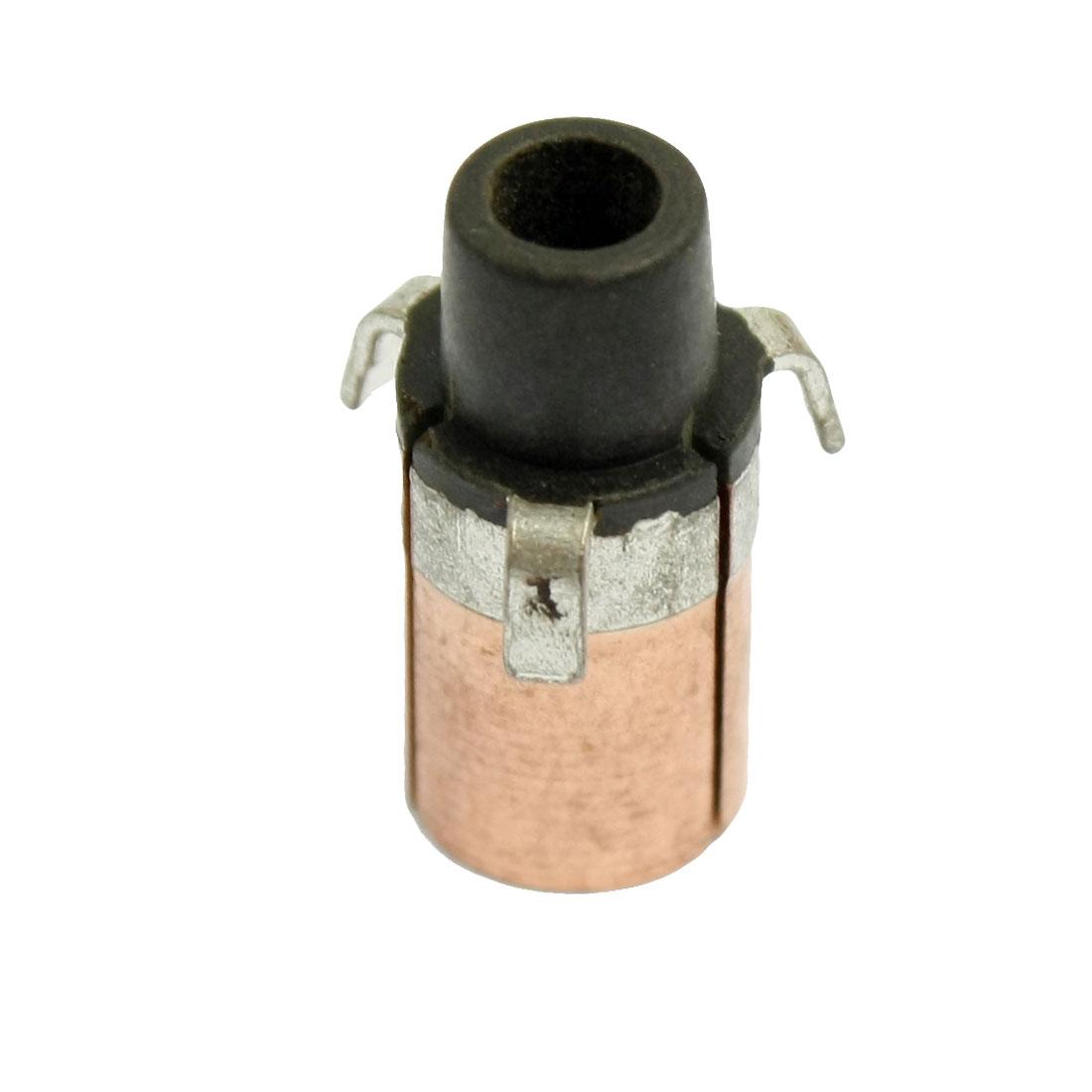 3.175mm x 7.6mm x 16.8mm Copper Case Auto Alternator Motor Power Tool Commutator