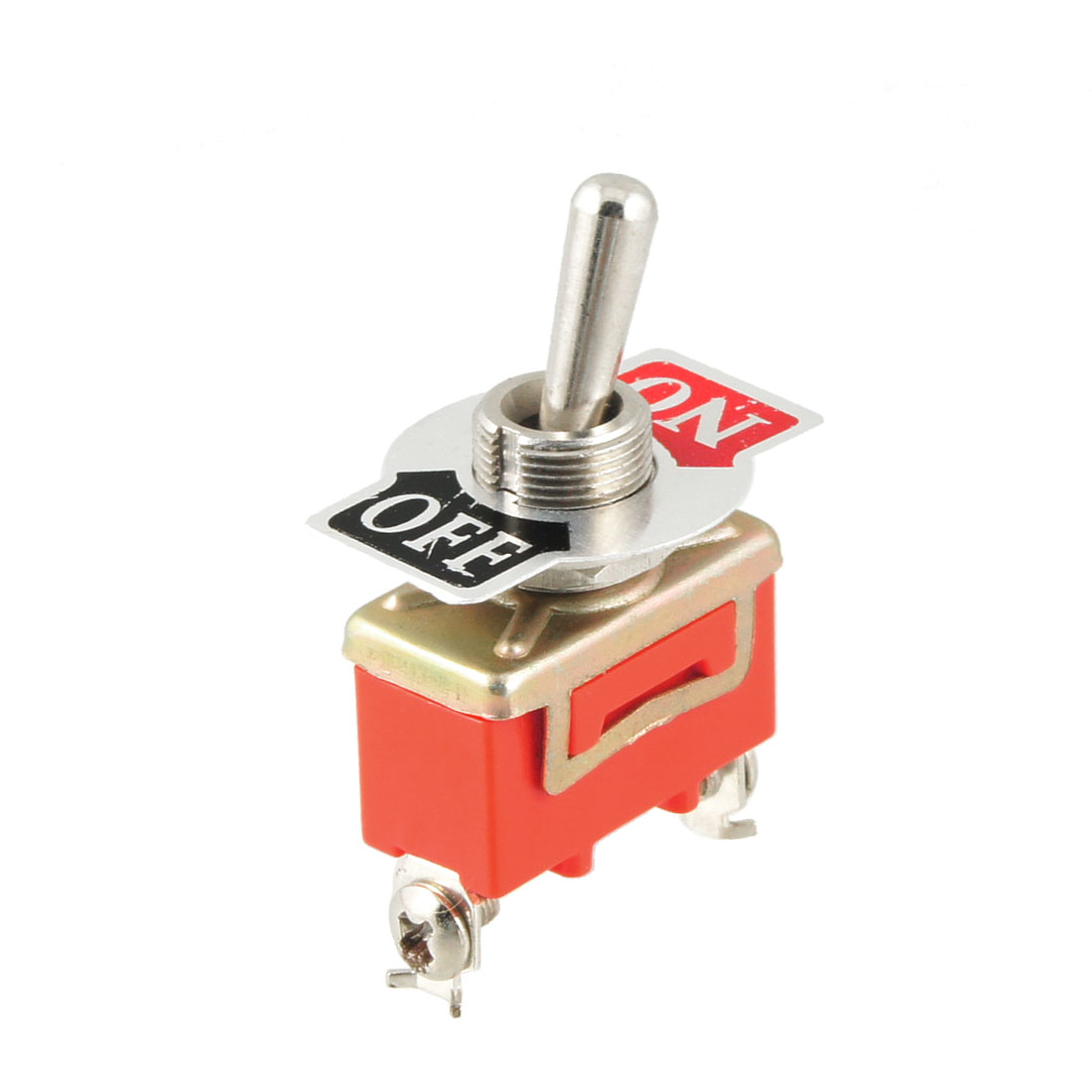AC 250V 15A ON/OFF 2 Position SPST 2 Screw Terminals Toggle Switch
