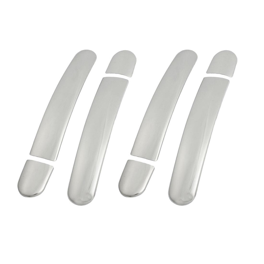 4 Pcs Auto Car Plastic Chrome Door Handle Cover Set for Volkswagen Tiguan