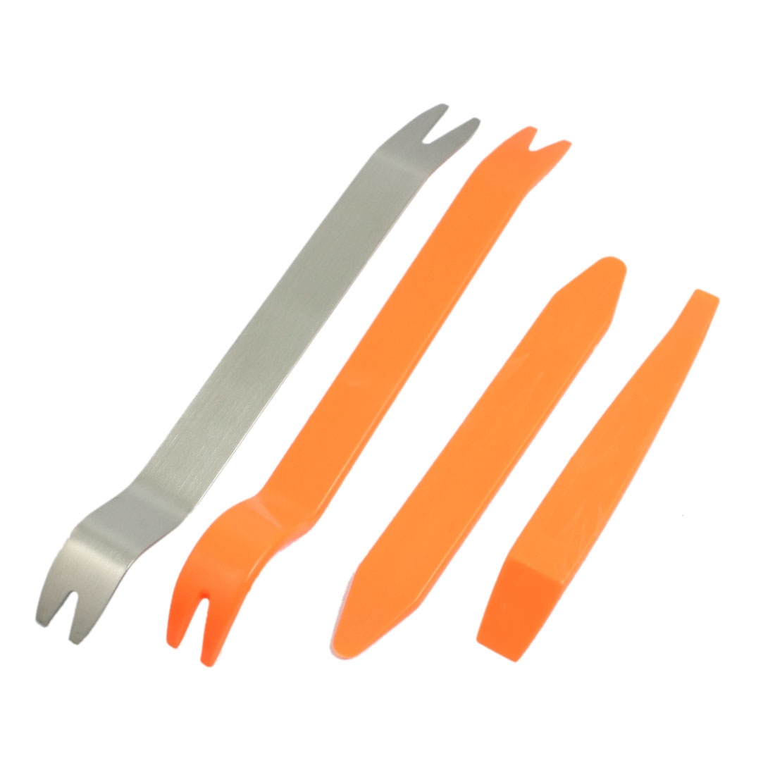 4 Pcs Car Door Panel Removing Plastic Metal Audio Refitting Dismantle Tools