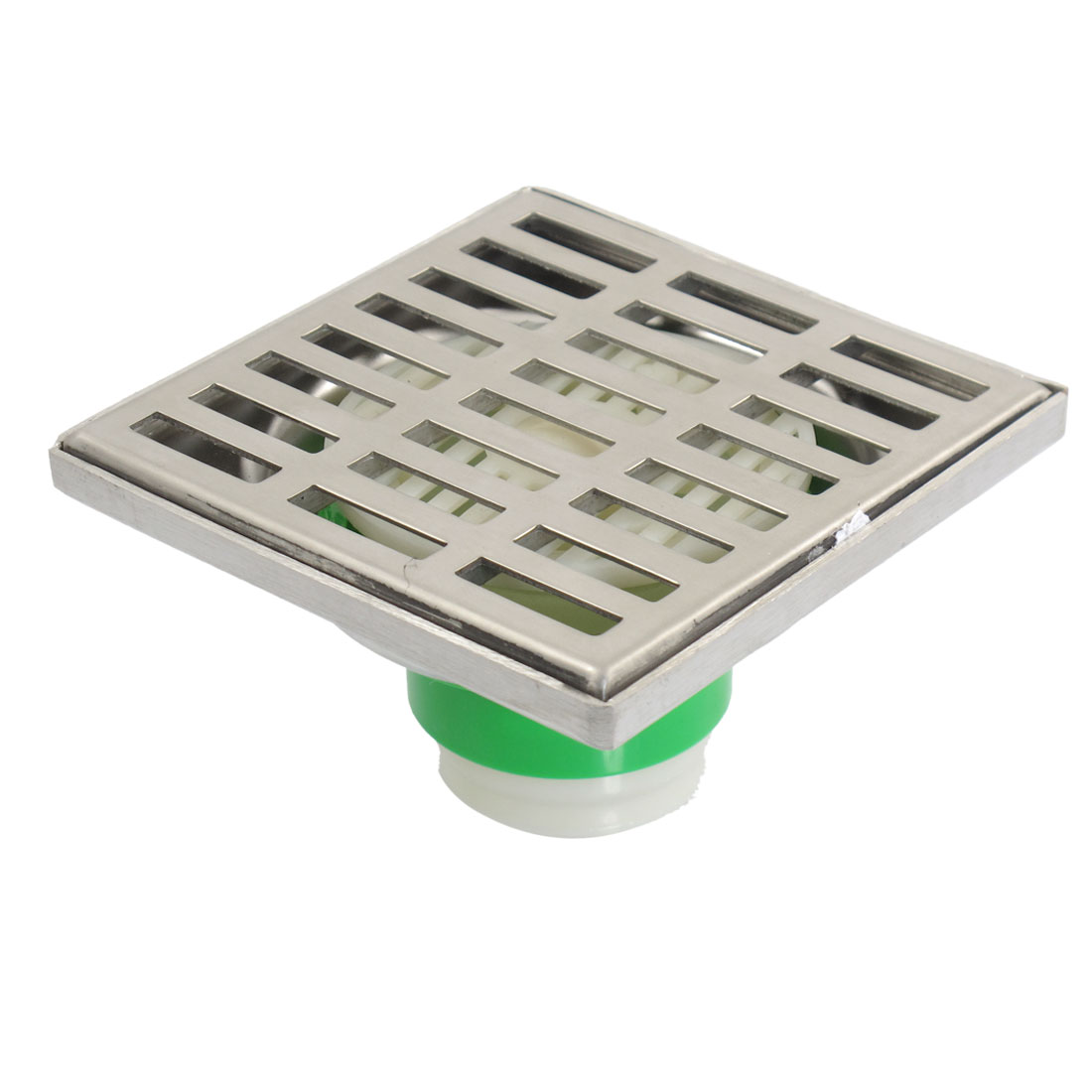 Home Bathroom Square Cover Stainless Steel Filter Floor Drain Strainer