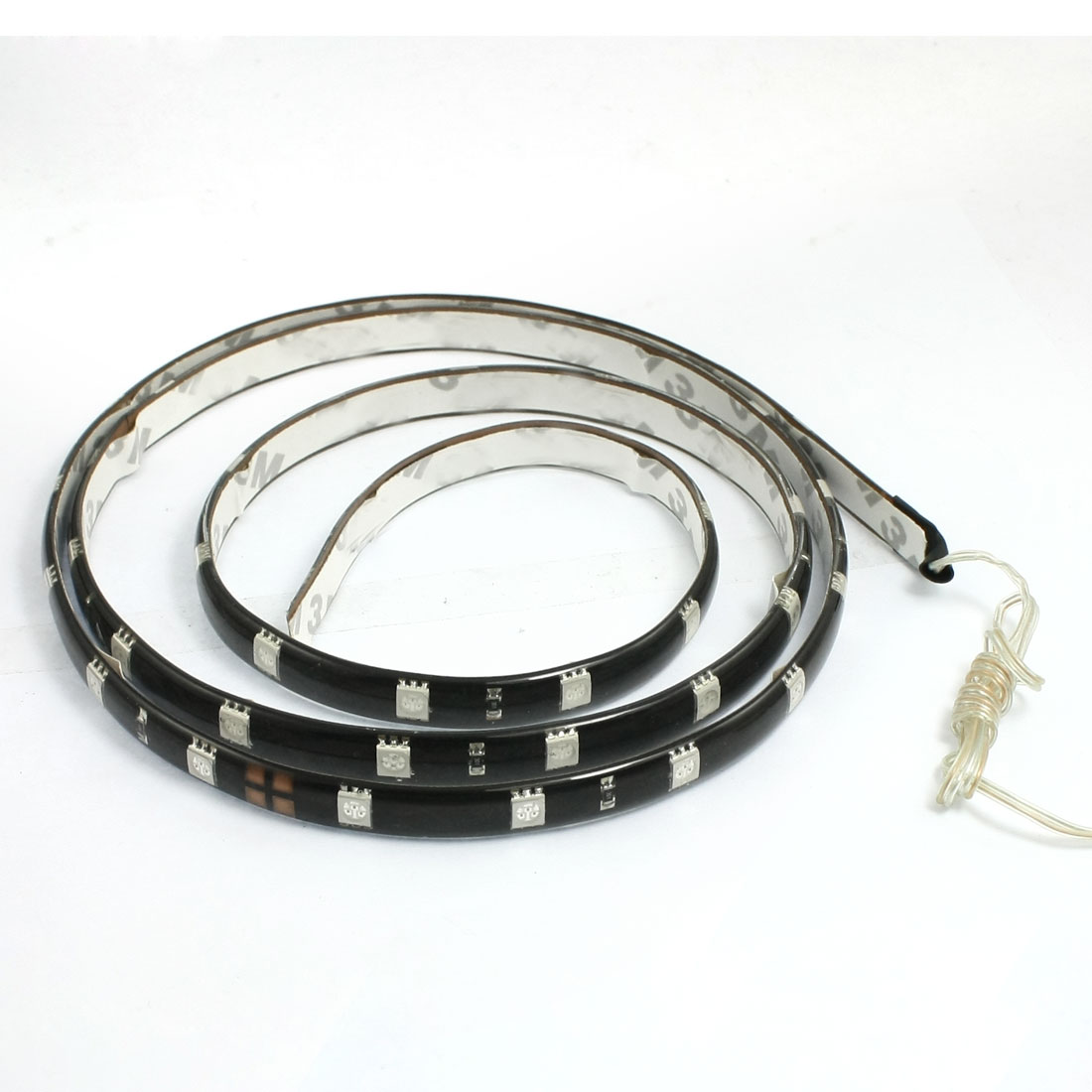 Car Auto DC 12V Red 5050 SMD 48-LED Strip Light Lamp 120cm