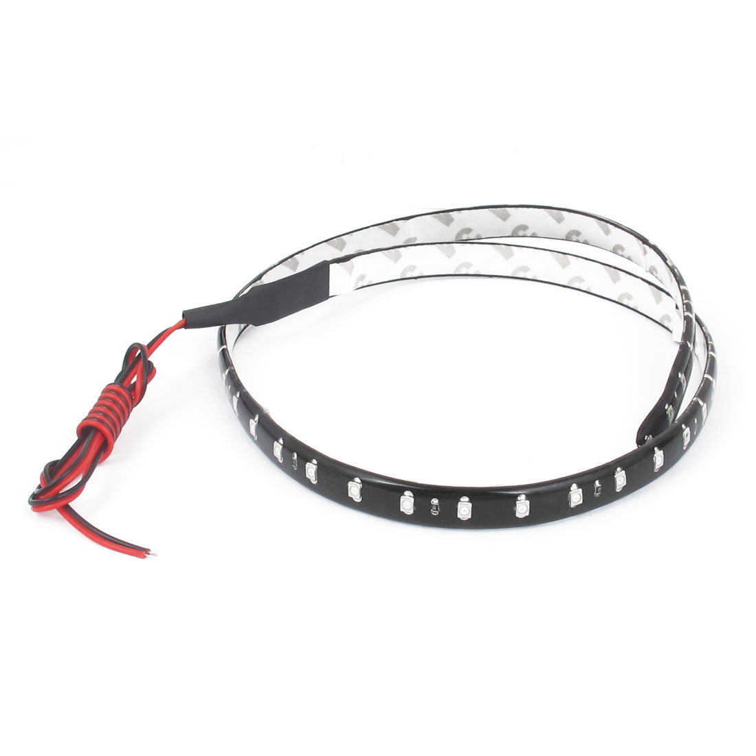 Car Auto DC 12V Red 1210 SMD 48-LED Strip Light Lamp 60cm