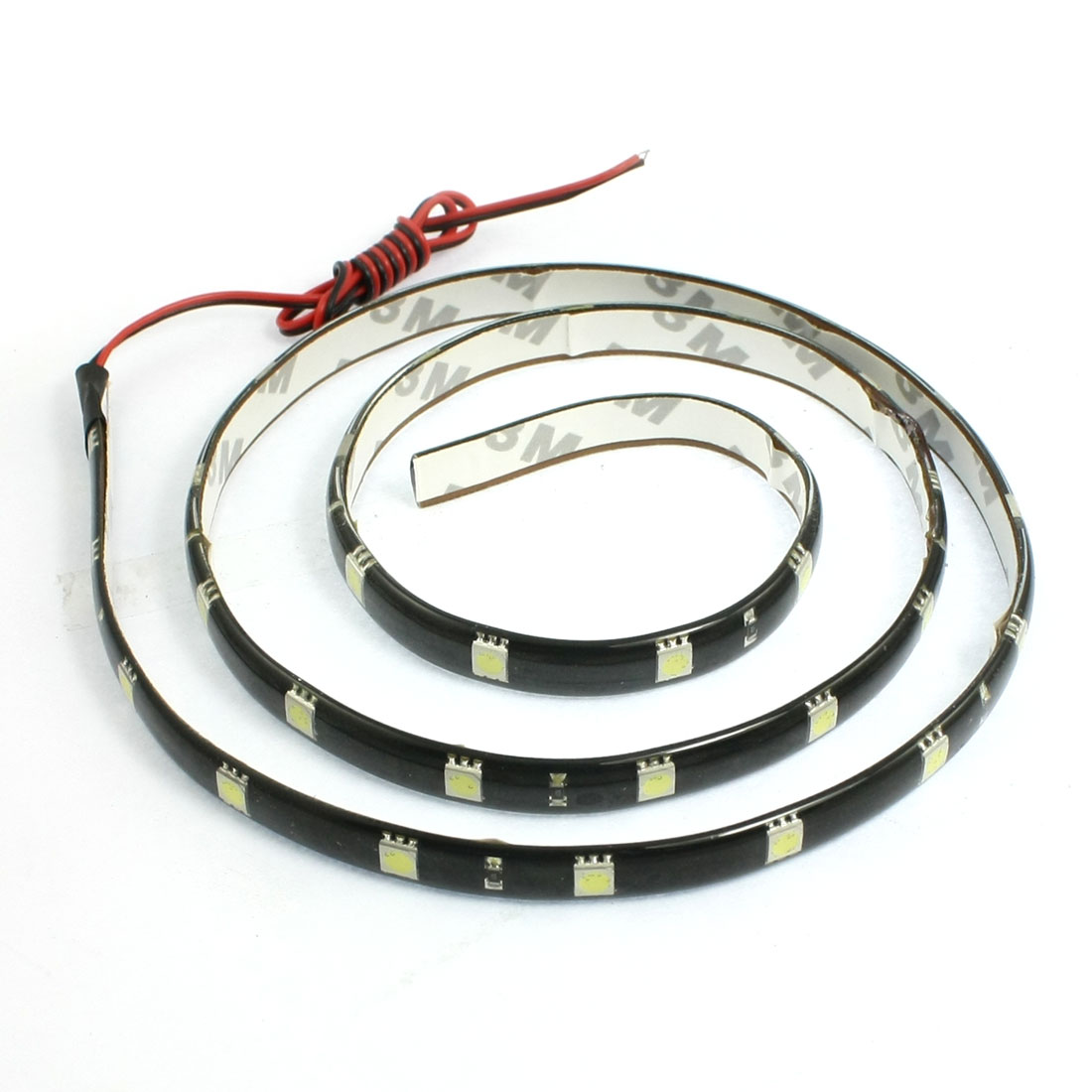 Car Auto DC 12V White 5050 SMD 36-LED Strip Light Lamp 90cm