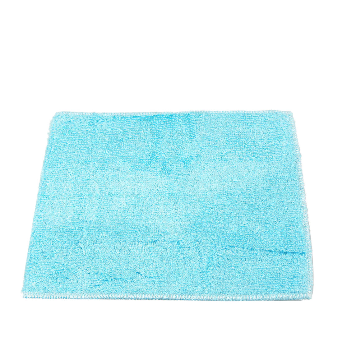 Blue Home Kitchen Dish Bowl Rectangle Shape Hand Cleaning Cloth Towel