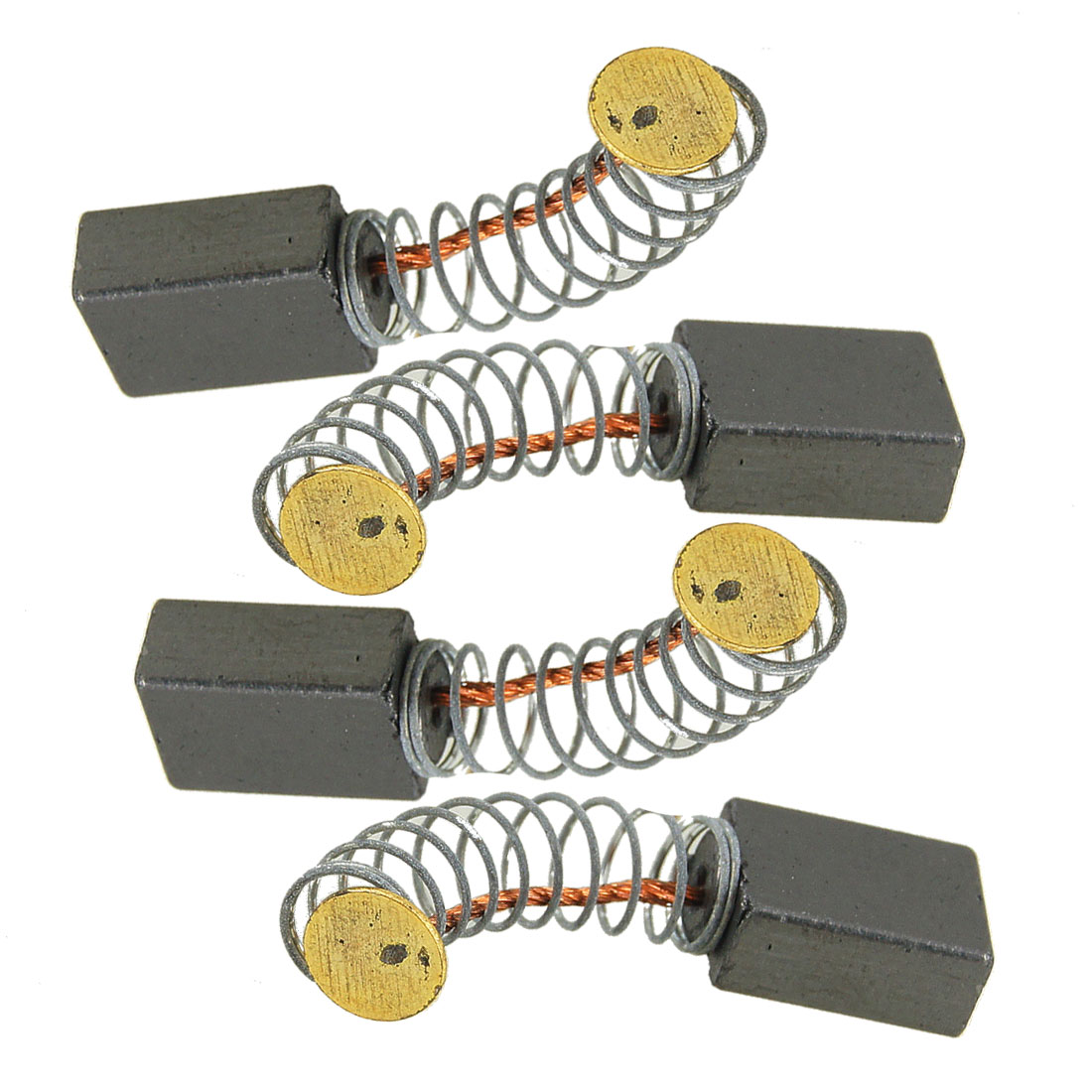 11mm x 8mm x 4.5mm Electric Motor Carbon Brushes 2 Pairs