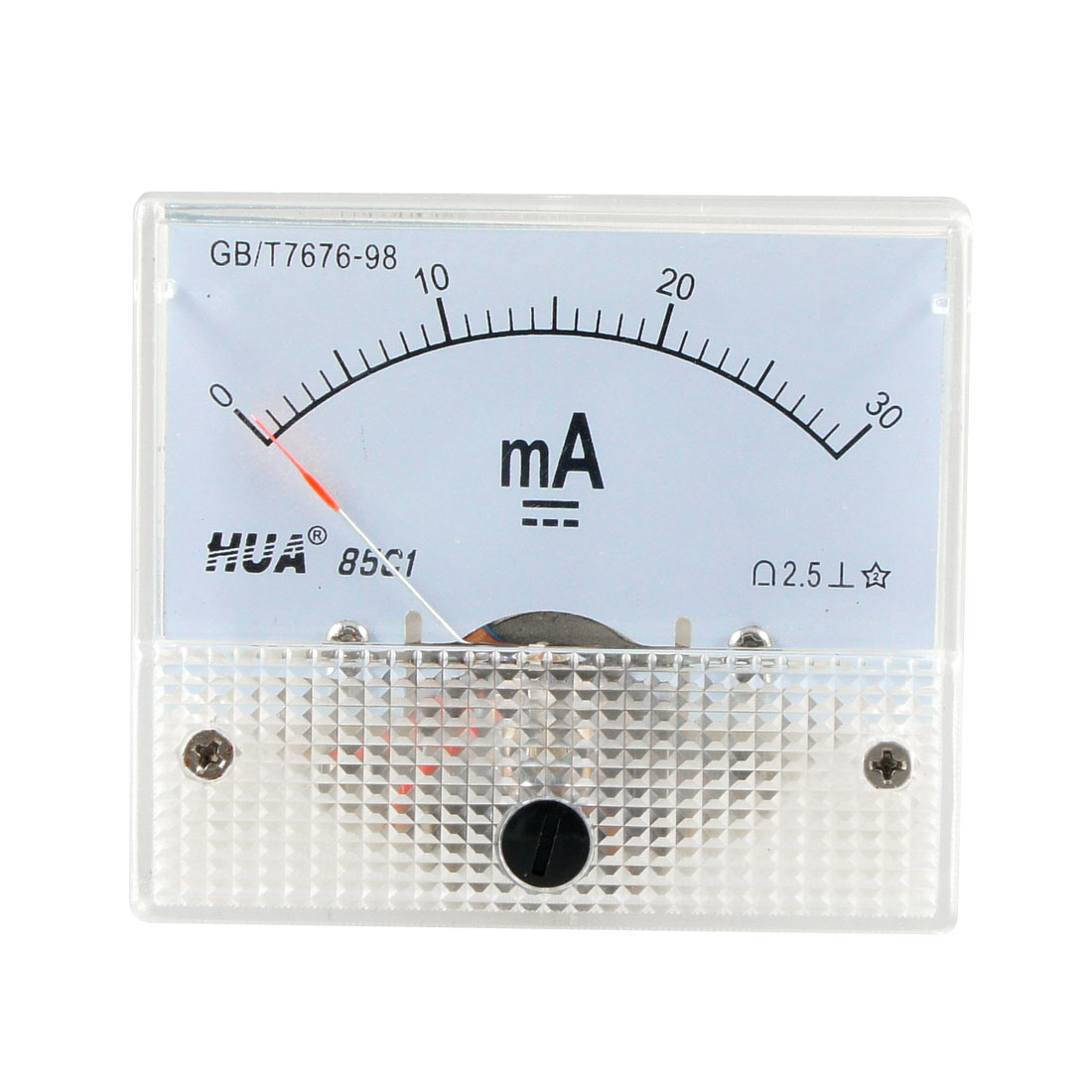 DC 0-30mA Analog Current Panel Meter Ammeter 85C1 30MA Off White