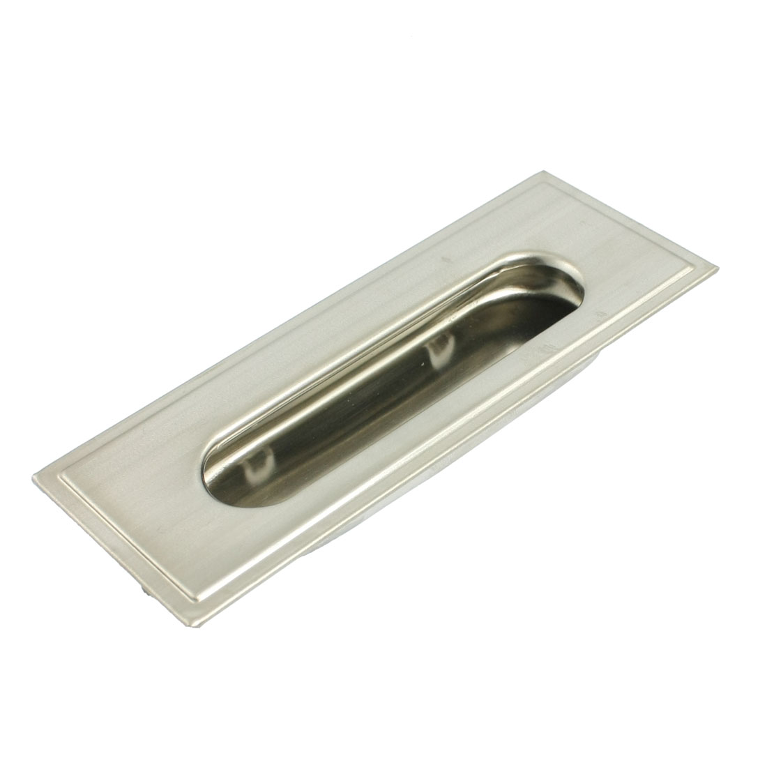 "Concealed Screw Fix Stainless Steel Flush Pull Handle 4.3"" Long"