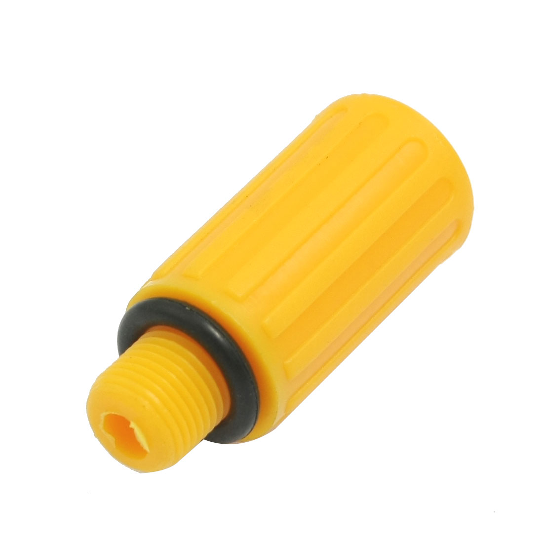 "Noise Reducing Orange Plastic Air Pneumatic Exhaust Muffler Silencer 1/4"" NPT"
