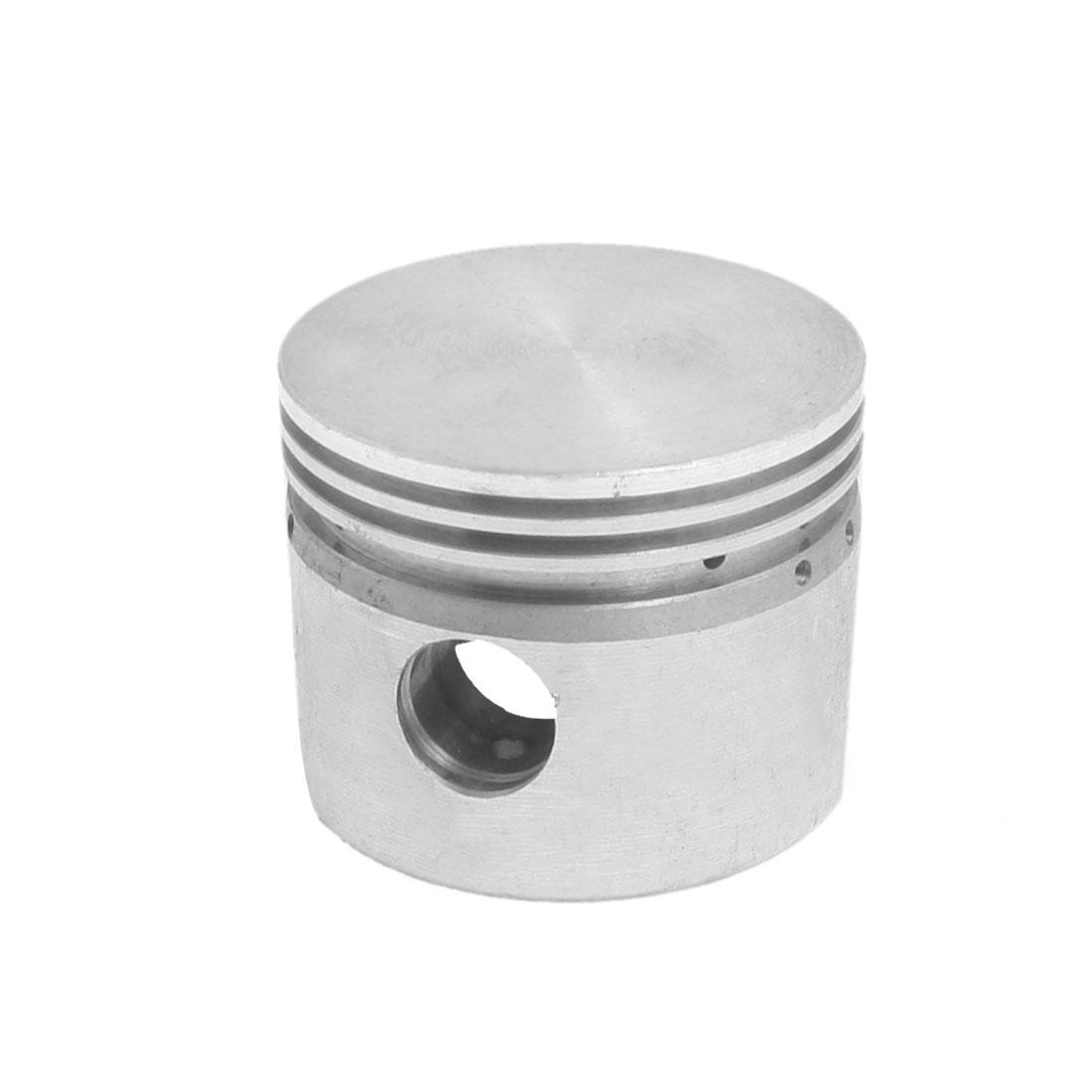 Silver Tone Aluminum Alloy 47mm Diameter Air Compressor Piston