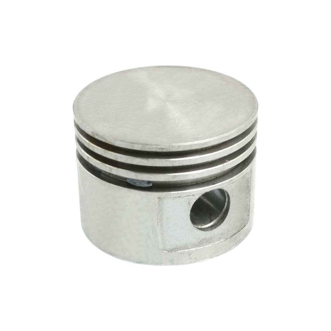 Air Compressor Fitting Part Silver Tone Aluminum Alloy 47mm Dia Piston