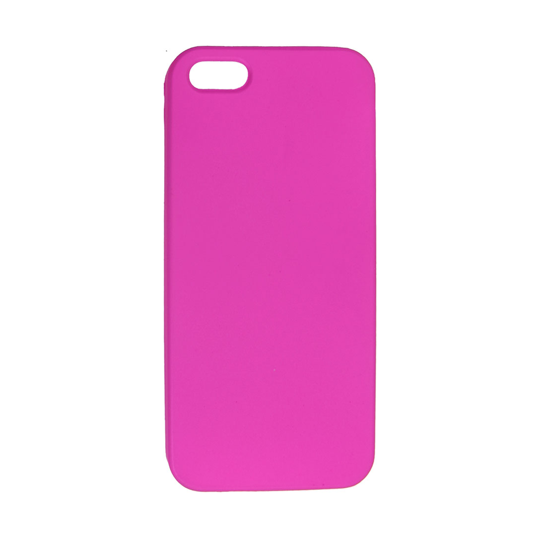 Fuchsia Hard Plastic Protective Phone Back Case for iPhone 5 5G