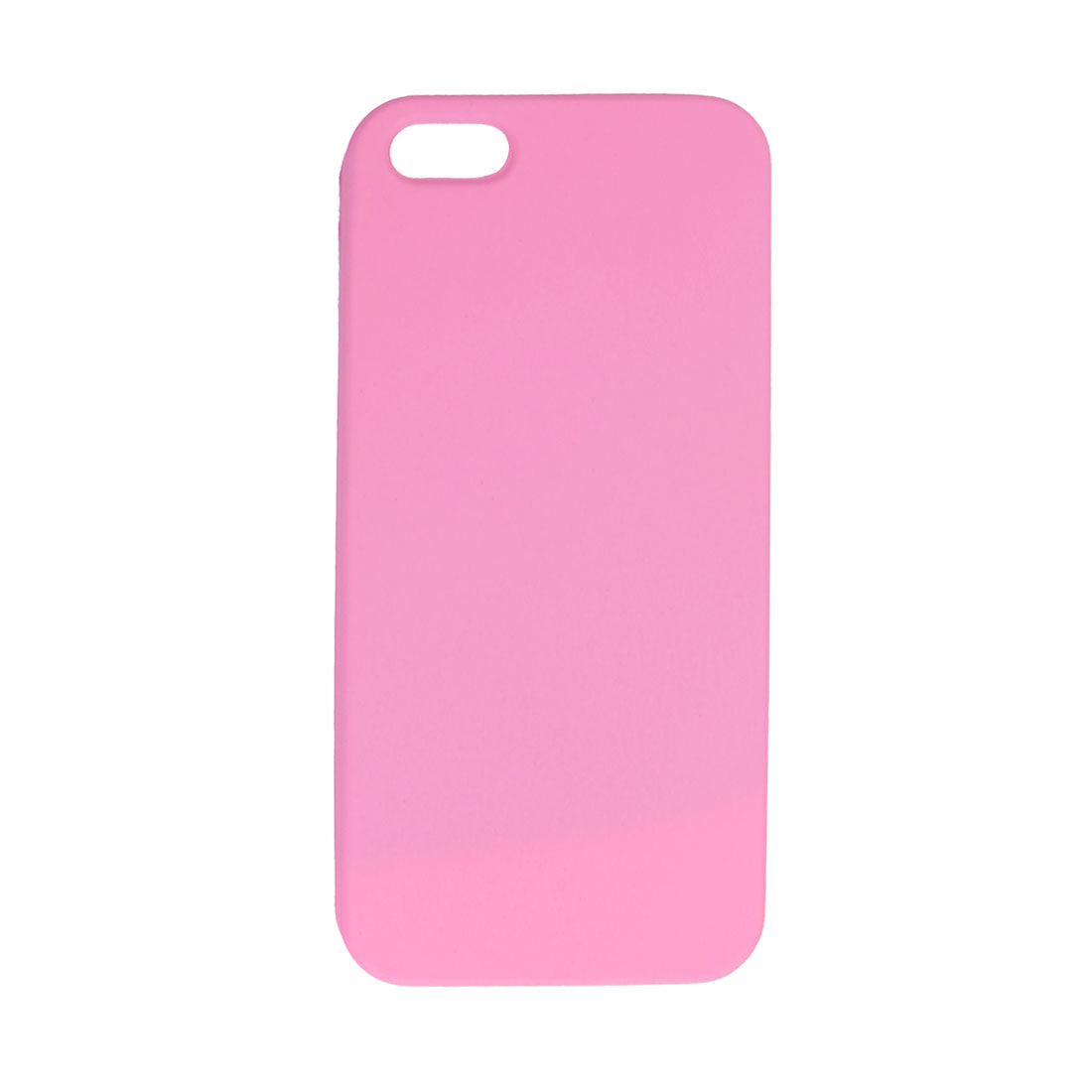 Pink Hard Plastic Protective Phone Back Case for iPhone 5 5G