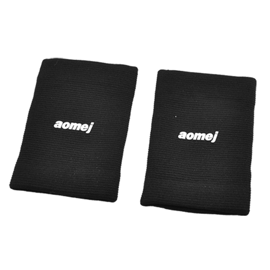 Pair Sports Protection Black Knitted Elastic Wrist Support Sleeve Protector