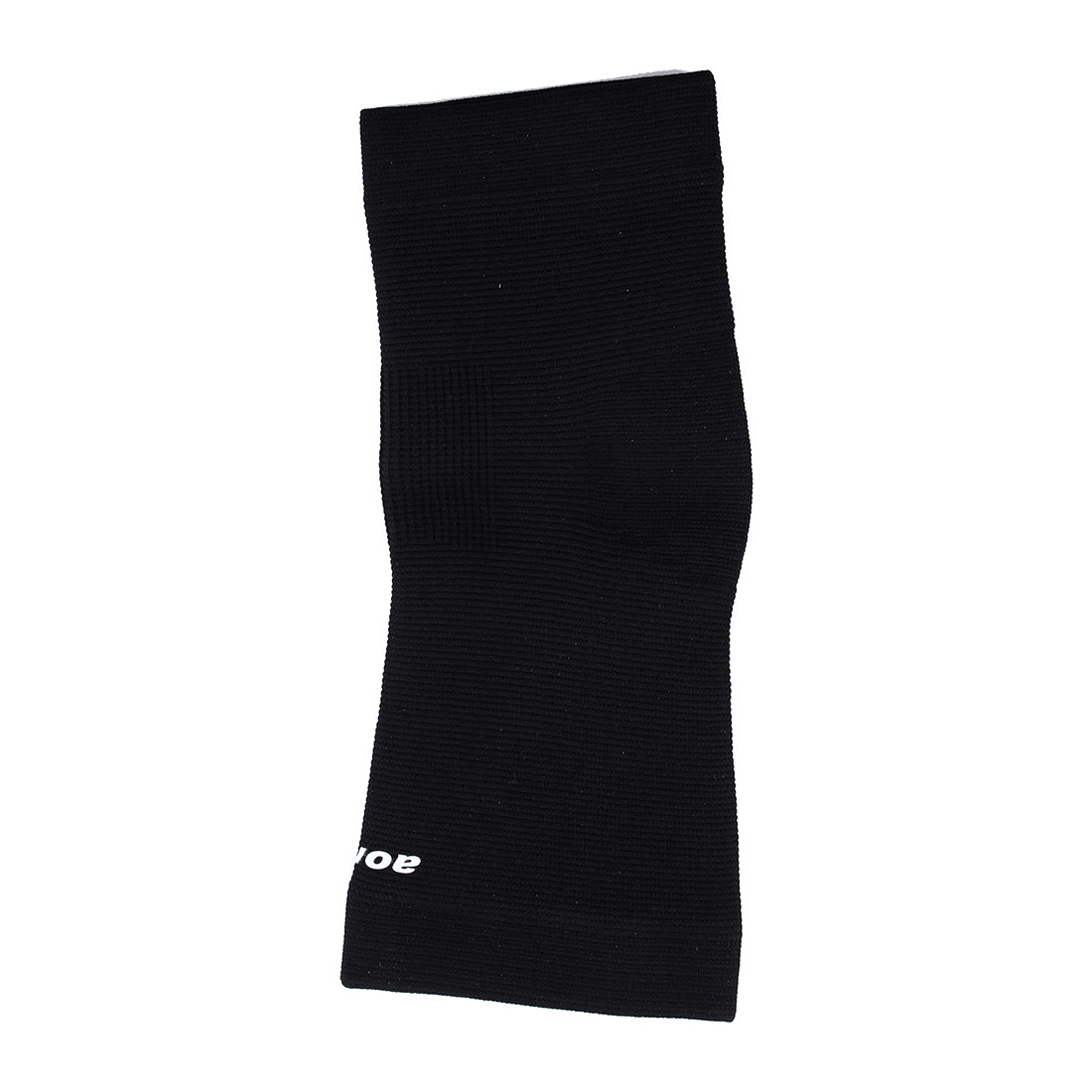 Sports Protection Black Ribbed Elastic Heel Ankle Support Sleeve Shield