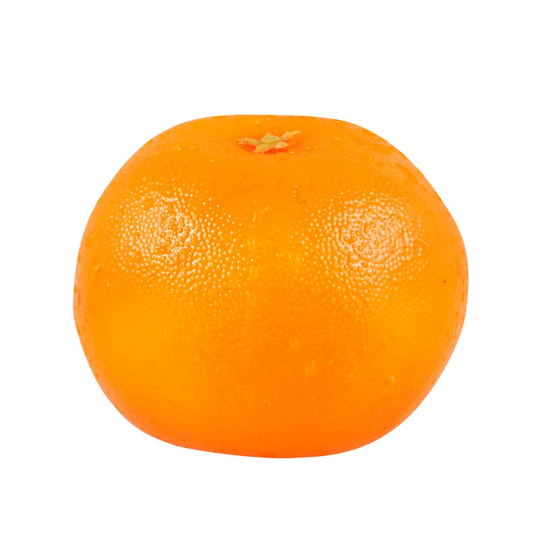 Foam Artificial Mandarin Orange Fruit Kitchen Decoration