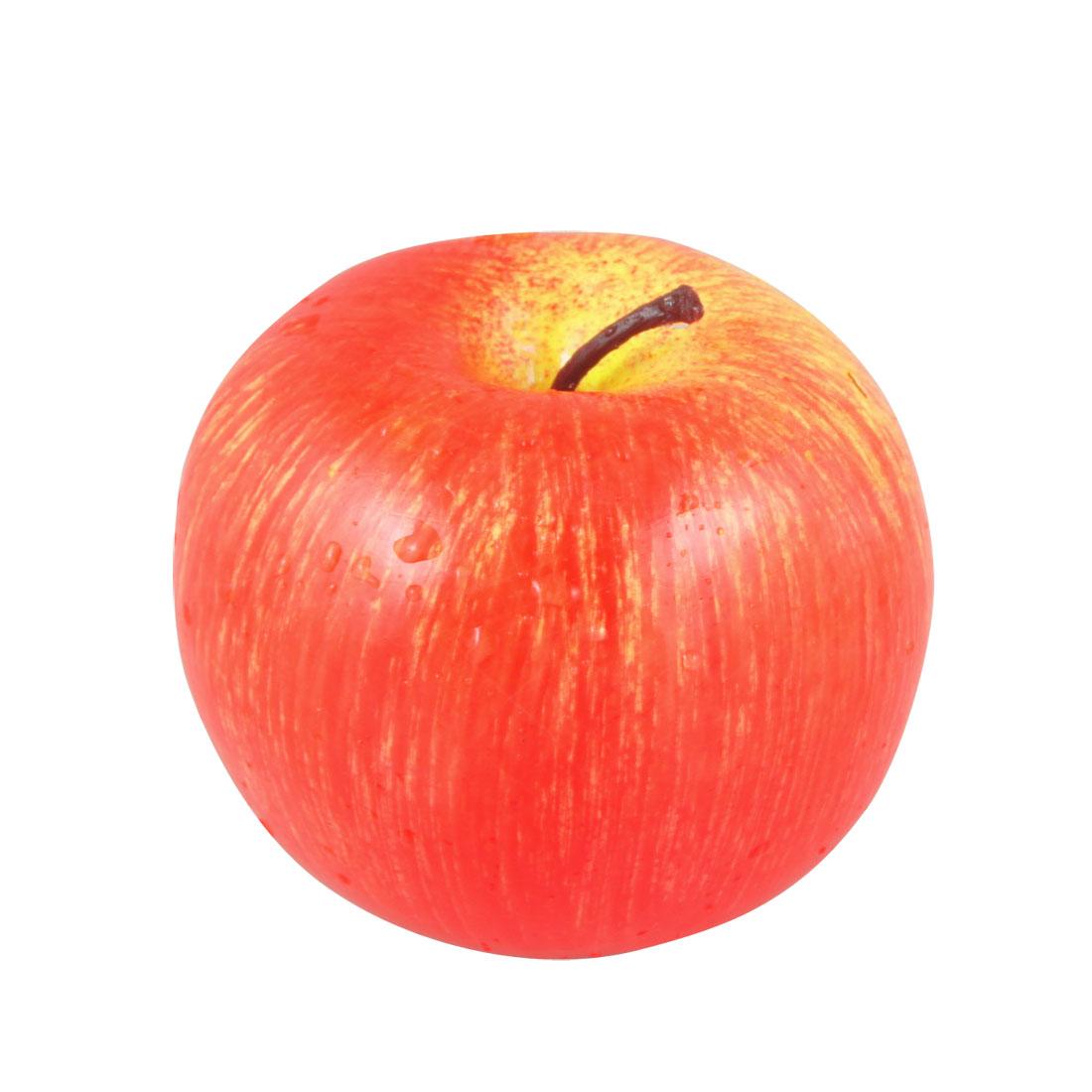 Foam Decorative Artifical Red Apple Model Fruit Desk Ornament