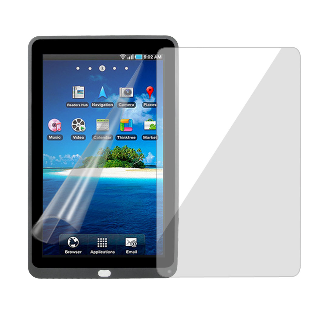 Clear LCD Screen Protector Cover Guard Film for Cobalt S1000 Android Tablet