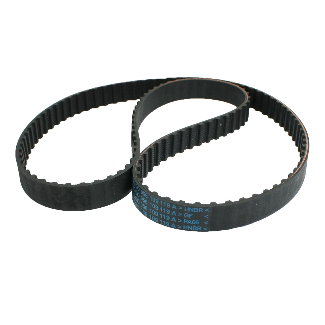 Black Rubber Trapezoidal Tooth 121 Teeth Car Timing Belt