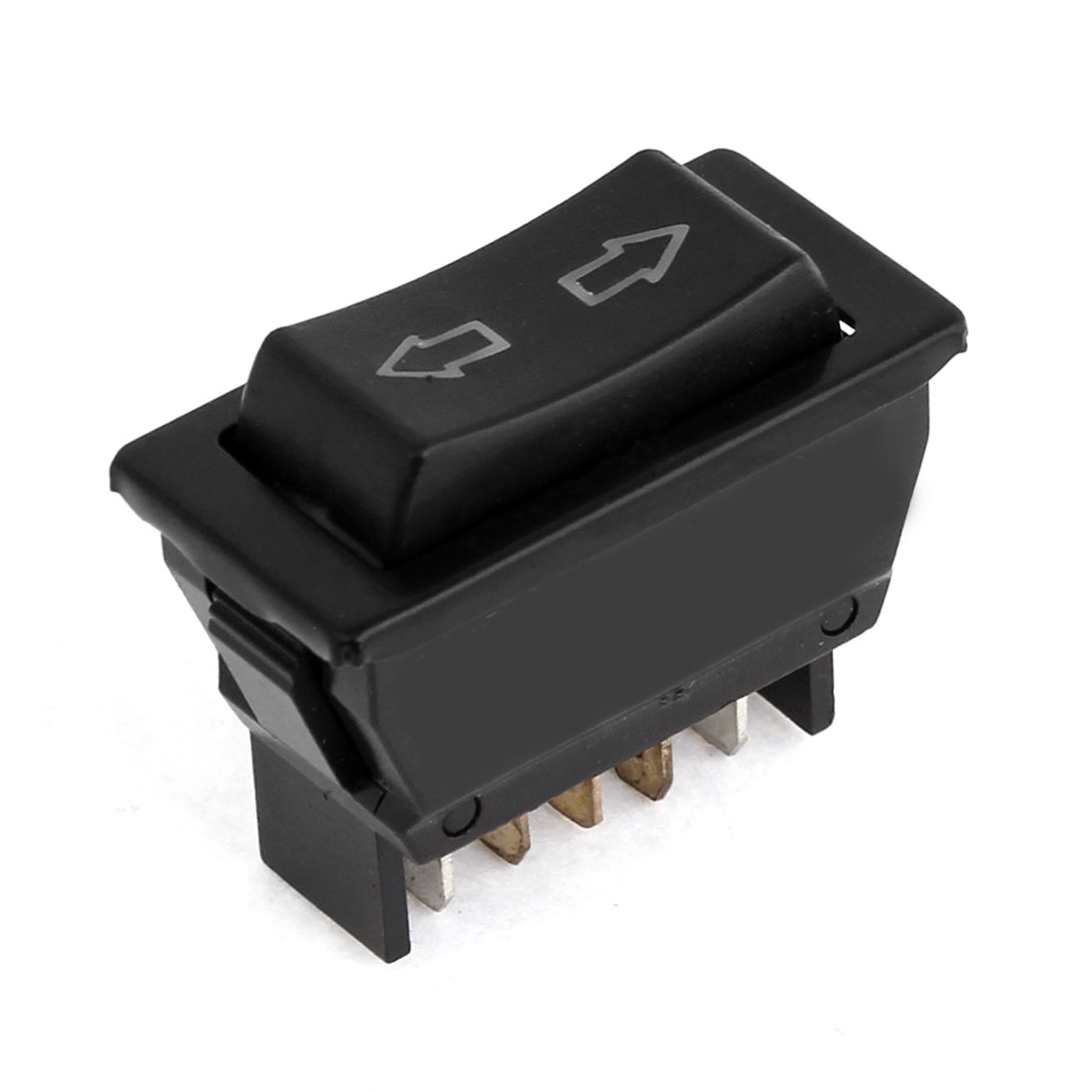 DC 12V Momentary 5 Pins DPDT Power Window Master Switch for Auto Car