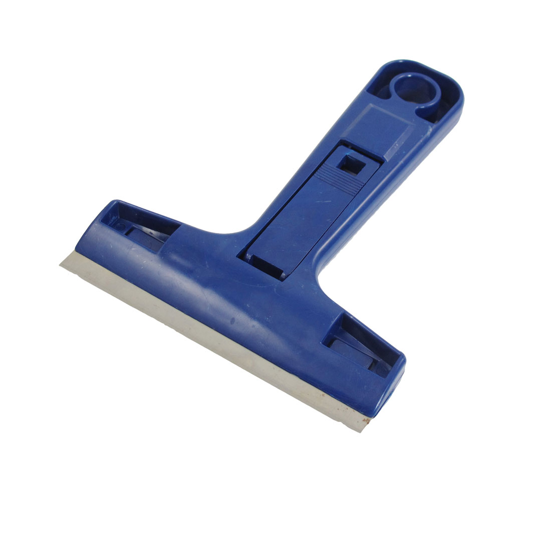 Dark Blue Plastic Handle Home Wall Floor Paint Decal Remover Scraper