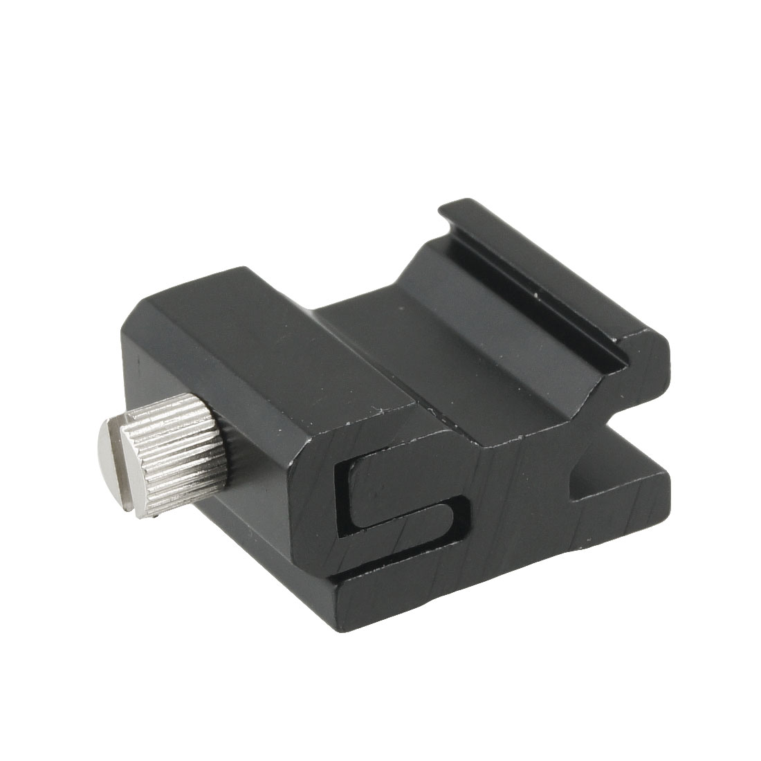 "Photo Flash Adapter Hot Shoe Mount With 1/4"" Bracket Thread Bracket"