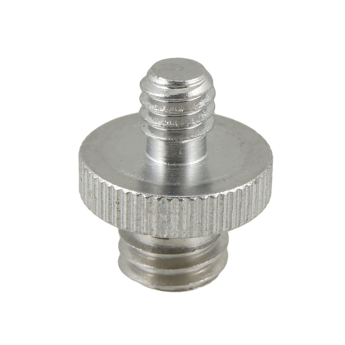 "Metal 1/4"" to 3/8"" Male Thread Flash Light Stand Holder Screw Adapter"