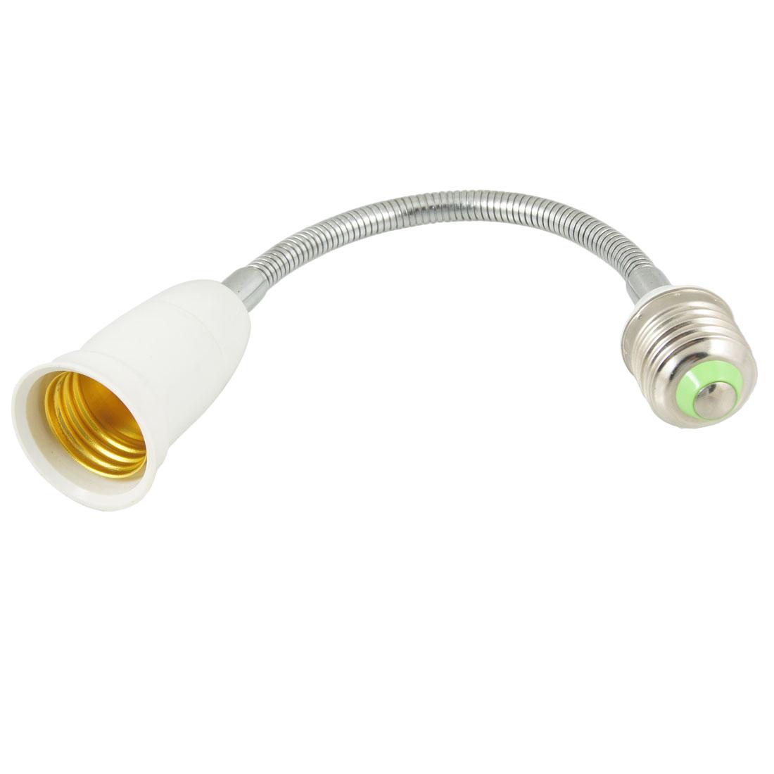Light Lamp Bulb Socket E27 Flexible Gooseneck Extender Adapter
