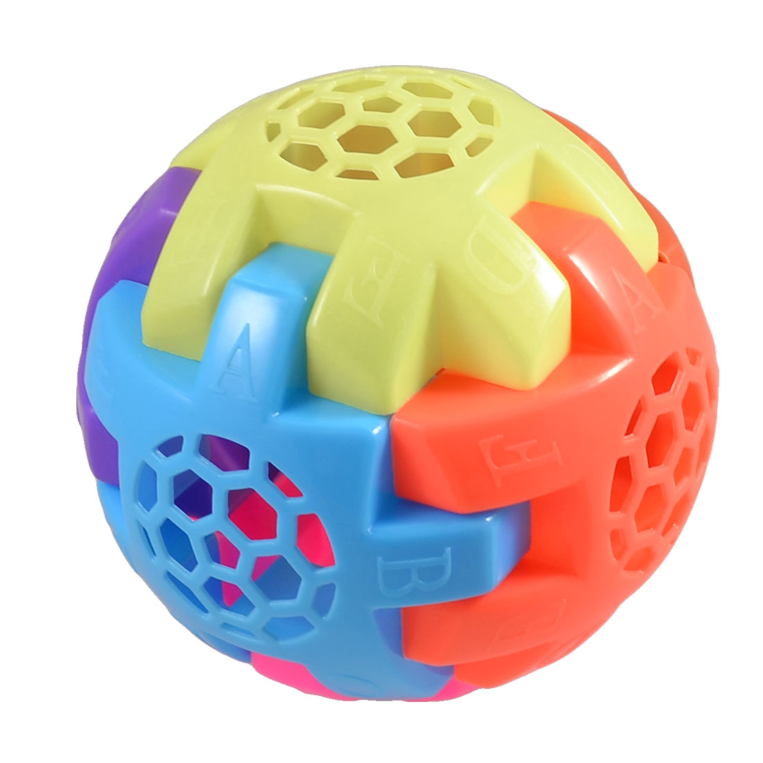 Assorted Color Plastic Combination Ball Toy for Children