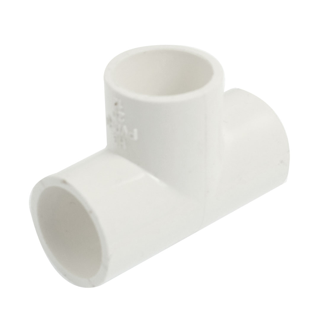 Replacement PVC-U 20mm Drinking Water Pipe Tee Shape Adapter Connector White