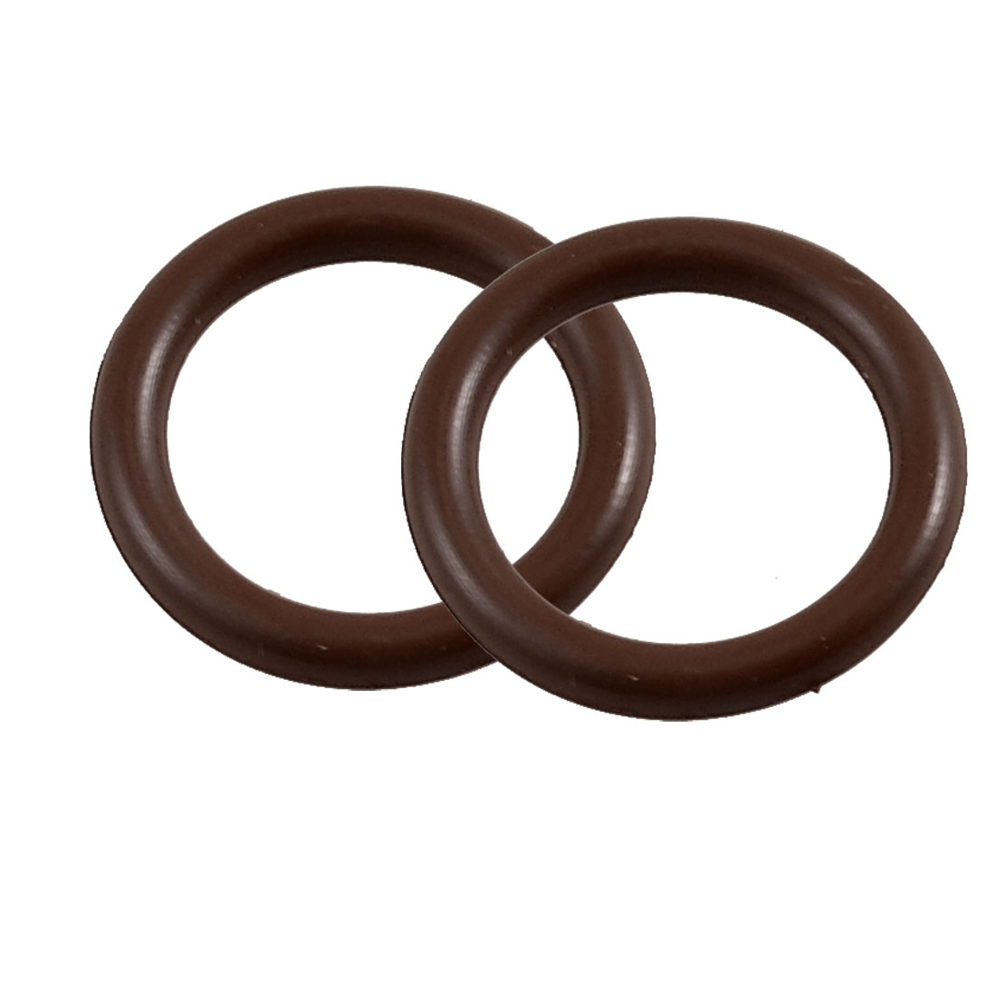 22mm x 16mm x 3mm Fluorine Rubber Sealing O Ring Gasket Washer 2 Pcs