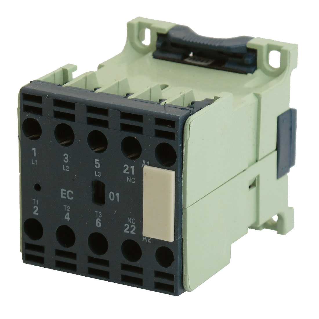 CJX2-6.3/01 110V 50/60Hz Coil 35mm DIN Rail Three Pole 1NC AC Contactor