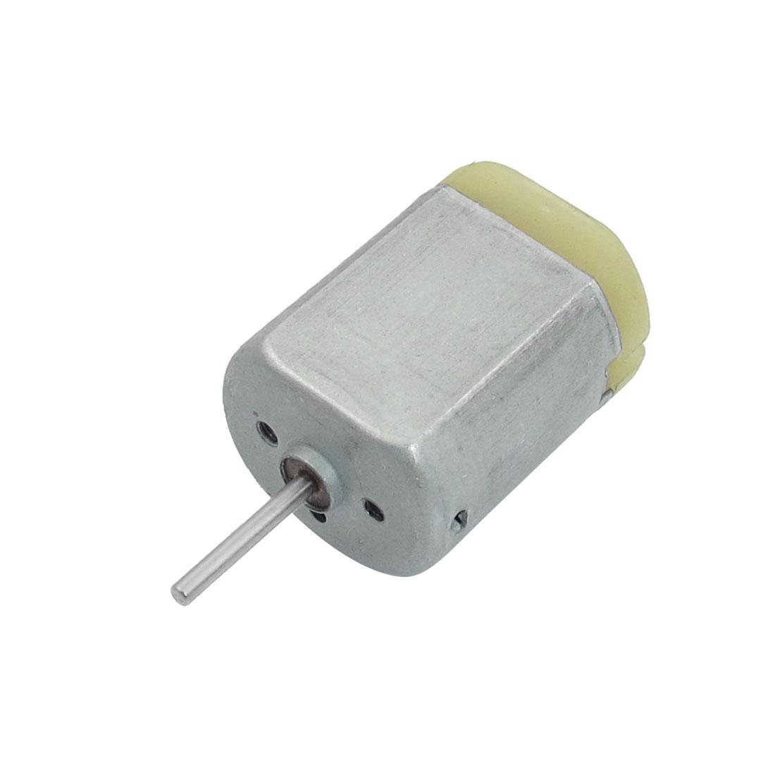 DC 12V 12000RPM 2mm Shaft Diameter 2-Terminal Flat Magnetic Motor