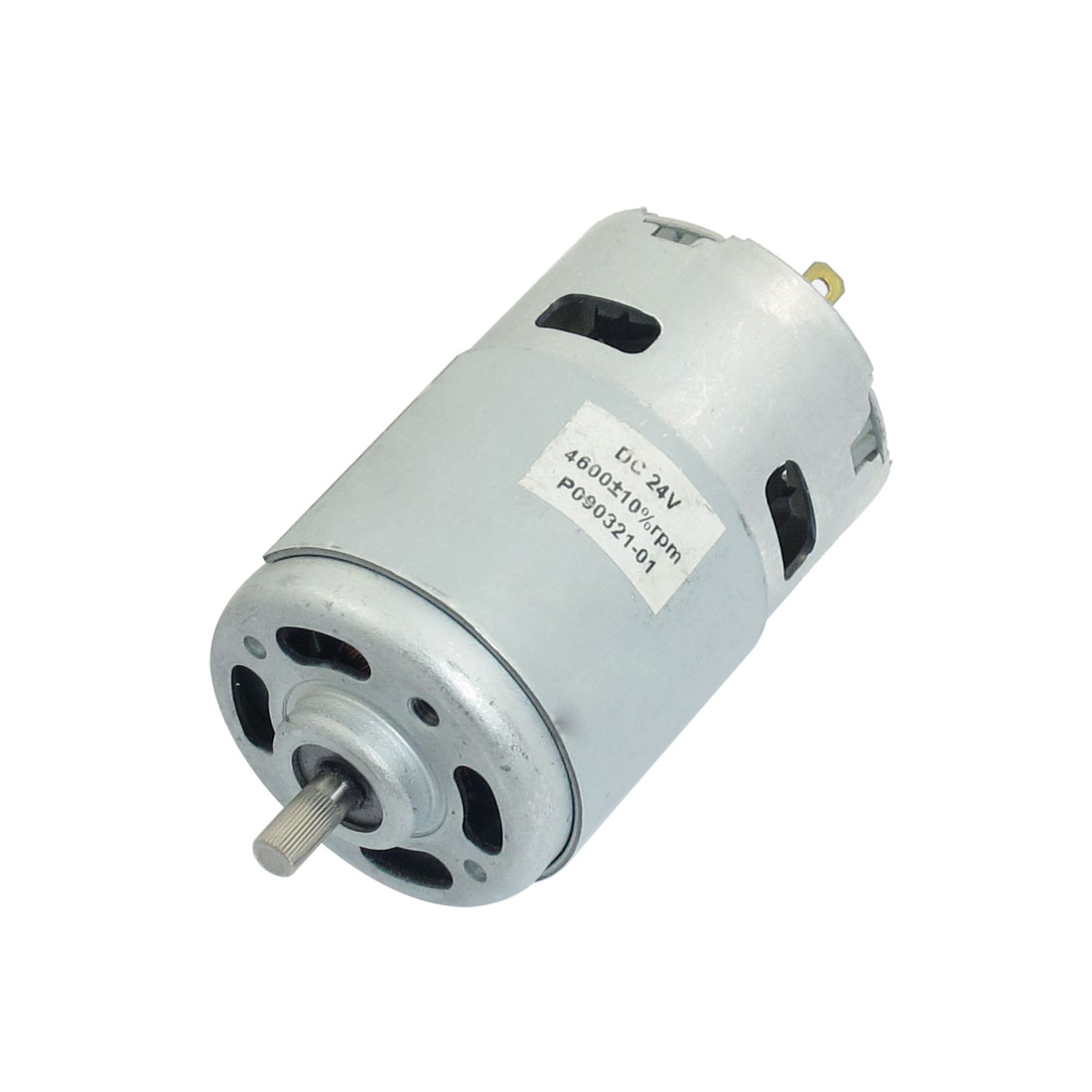 44mm x 66mm Body 2P Electrical Machine Motor 24VDC 4600RPM