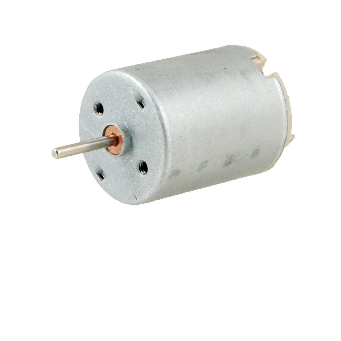 DC 5V 6300RPM 2mm Dia Shaft Metal Housing Magnetic Motor