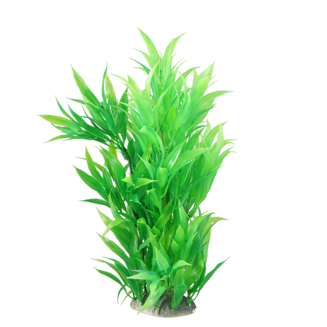 "12.4"" Height Green Manmade Water Plant Grass for Fish Tank Aquarium"