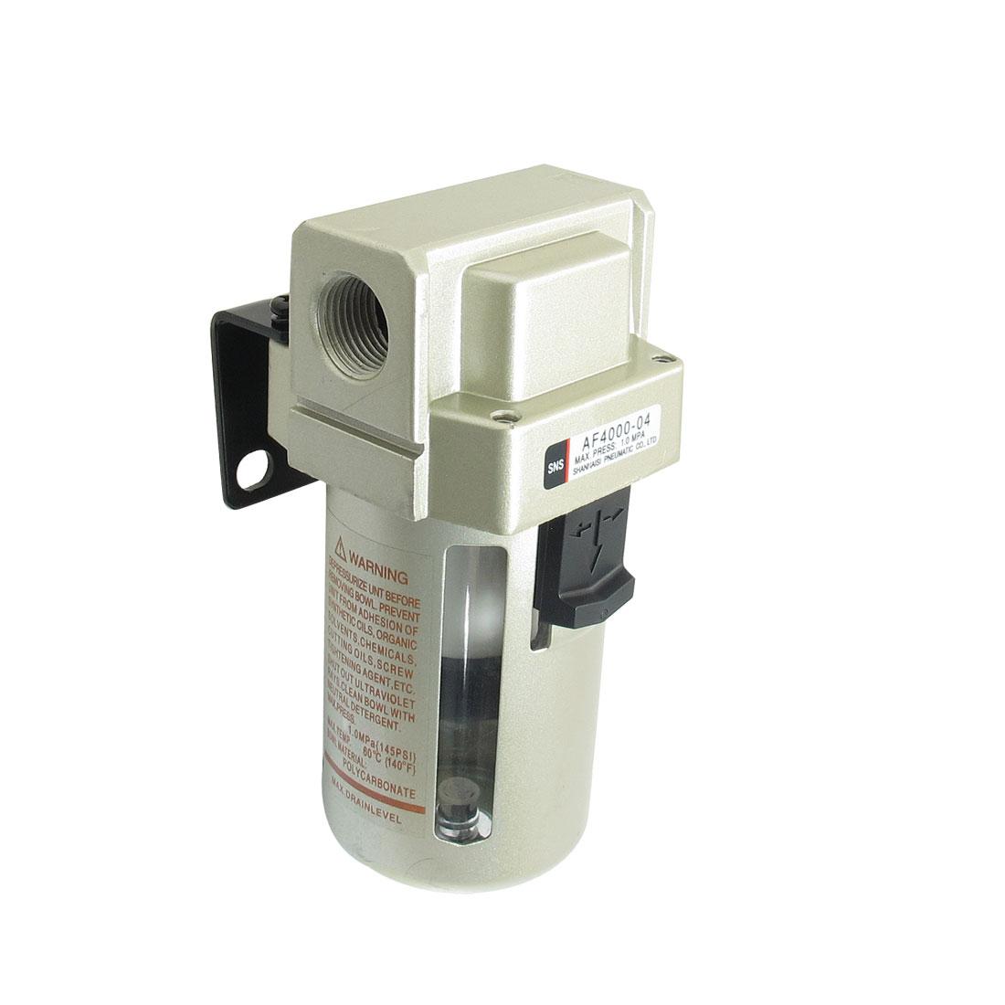 """AF4000-04 Compressor Pressure Regulator Pneumatic Air Filter 1/2""""PT"""