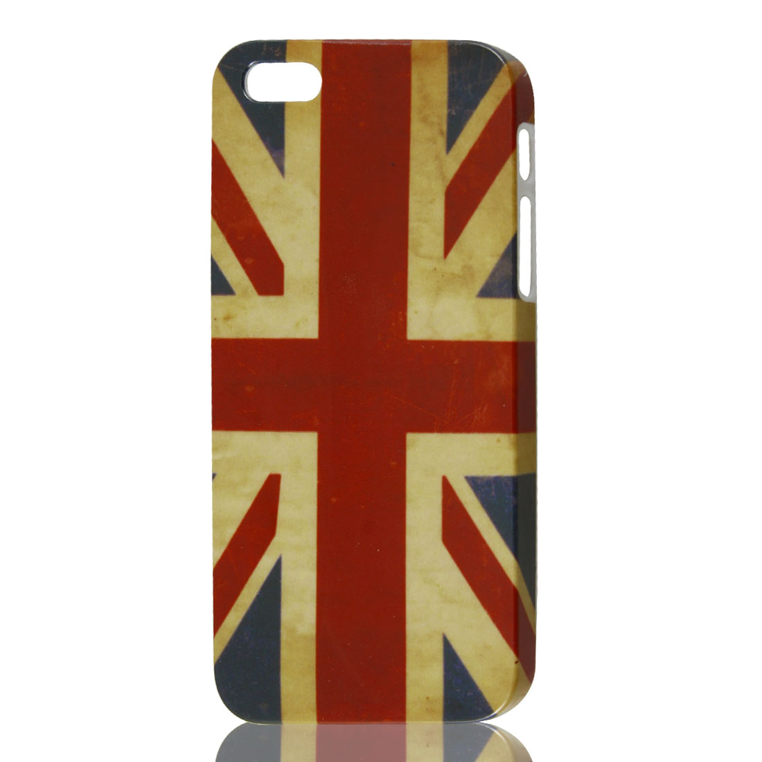 Vintage Style UK British Flag Pattern Hard Plastic Case Cover for iPhone 5 5G