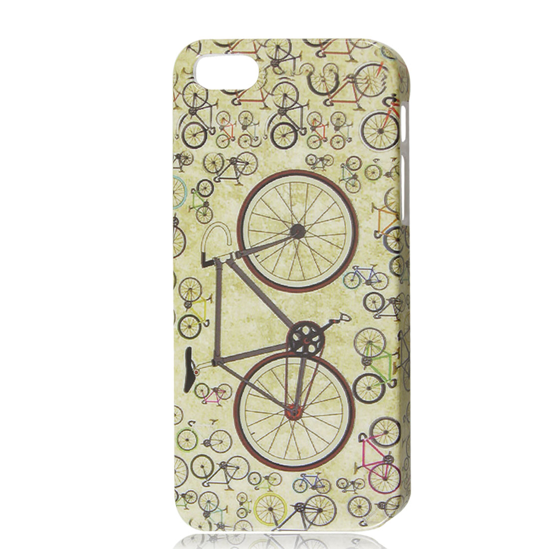 Retro Style Bicycle Pattern Hard Skin Case Cover for iPhone 5 5G