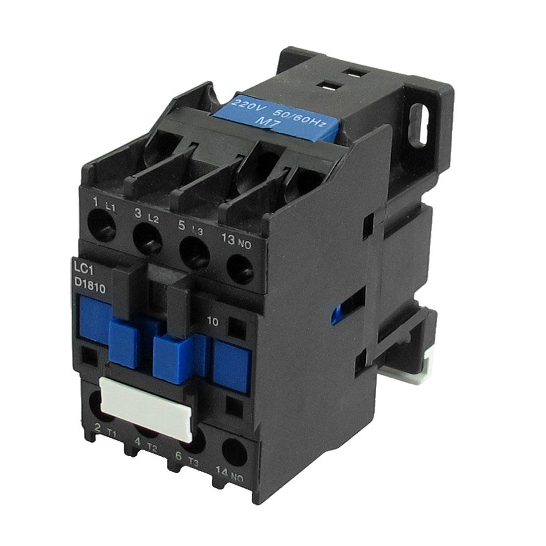 LC1-D18 3P 3 Pole 1NO AC 220 Volts Coil 690V 32A Motor Control AC Contactor