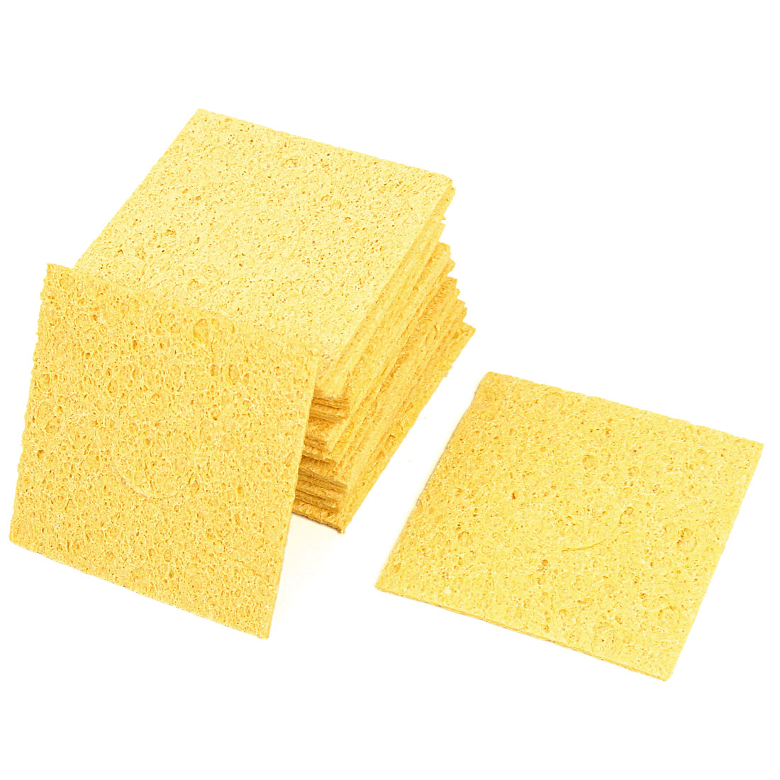 20 Pcs Replacement Soldering Iron Cleaning Sponge 57mm x 57mm x 1mm