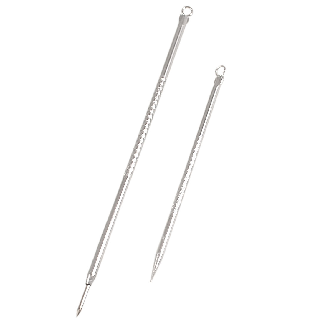 4mm Top Ring Dia Blackhead Extractor Tool Acne Needle 2 Pieces