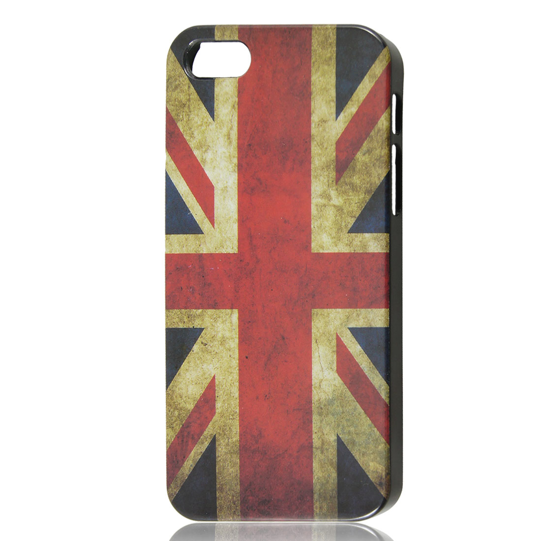 Vintage Style UK United States Flag Pattern Hard Back Case Cover for iPhone 5 5G